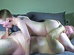 Short Haired Slut Gets Vagina Drilled Nuvid