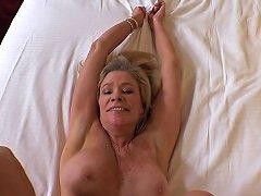 Busty Blonde Hot Cougar Fucks Pov Free Porn B2 Xhamster